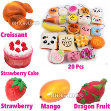 New Exclusive Areedy Squishy Colossal Slow Rising Scented Bread Cake Fruit Toys