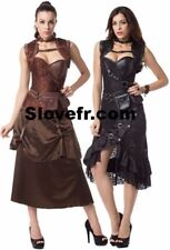 Corsets Bustiers Sexy Gothic Steampunk Plus Size M / 6XL Burlesque Cosplay