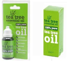 100% Pure Tea Tree Essential Oil helps cleanse and refresh your skin anti-septic