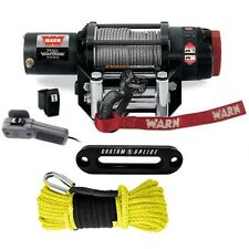 Warn ProVantage 4500 winch - Polaris Mount and Synthetic Upgrade RZR 900, 1000