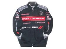 2017 Authentic Dodge Challenger Racing Cotton embroidered Jacket JH Design