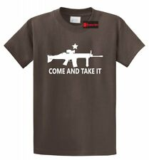 Come And Take It T Shirt Gun Lover Ar15 Rights 2nd Amendment Gift Tee