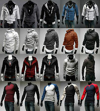 NEW Mens Top Designed Hoodie Jacket Coat Long Sleave Sport Sweater Shirt Clothes