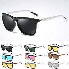 Polarized Mens Aviator Driving Goggles Outdoor Cycling Sunglasses Glasses UV400