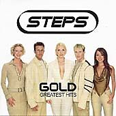 STEPS - GOLD - GREATEST HITS CD - TRAGEDY / STOMP / BETTER BEST FORGOTTEN +
