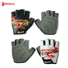 Boodun Padded Bike Gloves Biking Gear Half Finger Cycling Bicycle Gloves S-XXL