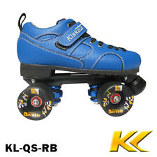 KL skate Jam Skates Roller Speed Derby quad skate in blue size 34-45