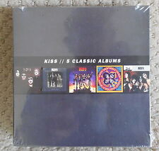 KISS - 5 Classic Albums CD Set Sealed never opened