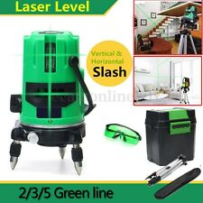 3 Type 3D Green 2/3/5 Line 360 Rotary Laser Level Outdoor Self-leveling Tripod