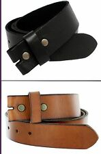 Men Leather Belt, Men's Genuine Leather Snap On Strap Buckle Belt Wholesale BS40