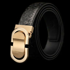 Men's Genuine Leather Belt Designer Belts Waist Magic Series Strap Ratchet Belt