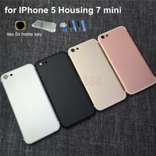 Back Housing Rear Battery Door Mid Frame for iPhone 5 Black Red to iPhone 7mini