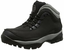 New Groundwork Safety Steel Toe Cap Work Boots Leather Hiking Shoes Black 3-14