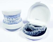 Teeth Whitening / Bleaching Trays Custom Fit - with Reservoirs using DIY kit