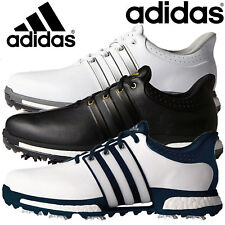 NEW 2017 ADIDAS TOUR 360 BOOST WATERPROOF LEATHER GOLF SHOES