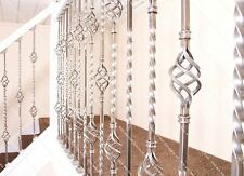 Stop & Stair Spindles ® - Wrought Iron Stair Spindles - Basket Design