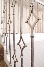 Stop & Stair Spindles ® - Wrought Iron Stair Spindles - Diamond Designs