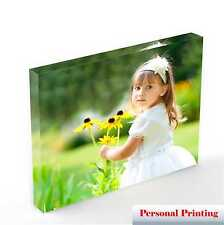"Personalised Acrylic Photo Block With Your Photo upto 10"" x 8"""