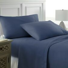Home Collection Extra Soft 4 Piece Bed Sheet Set - Deep Pocket!