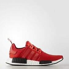 Adidas NMD_R1 Runner Nomad Boost Clear Red Black White Mesh BB1970 Primeknit PK