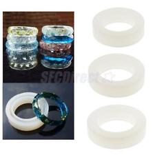 DIY Round Silicone Mould Mold Resin Curve Bangle Bracelet Handmade Jewelry Tools