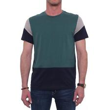 Kenneth Cole NY Short Sleeve Crew Neck Basic Tee  Men Basic T-Shirt