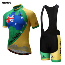 MILOTO Pro Team Cycling Clothes Ropa Ciclismo Mens Bike Jersey (Bib) Shorts Set