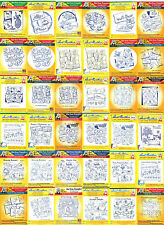 Hot Iron Transfers Embroidery Paint Quilt Needlepoint Aunt Martha Unused Pattern