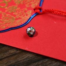 8mm/10mm/12mm Mixed-color Chinese Enamel Cloisonne Metal Round Craft Beads