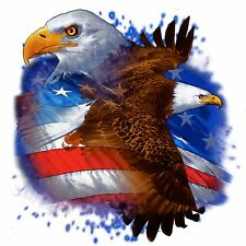 USA Bald Eagle Wings American Flag T-Shirt, ap80005