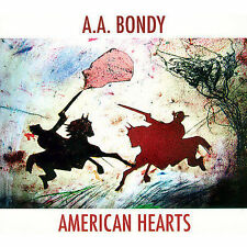 American Hearts [Digipak] by A.A. Bondy (CD, Aug-2007, Superphonic Records)