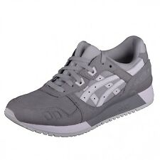 Asics Gel Lyte III aluminium / white Shoes Trainers Runner Leather H7K4Y 9601