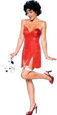 Betty Boop Red Sexy Licensed Dress Up Women Costume