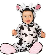Baby Girls Boys Cow Farm Animal Book Day Halloween Fancy Dress Costume Outfit