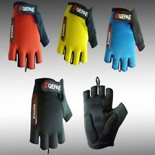 QEPAE Fingerless Cycling Gloves Gel Half Finger Bike Bicycle MTB Gloves S-XXL