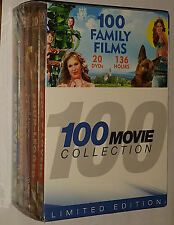 100 Family Films: Jack & the Beanstalk Rescue from Gilligan's Island DVD Box Set