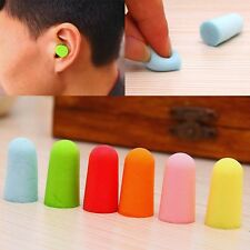NEW Soft Foam Ear Plugs Sleep Noise Prevention Earplugs Tapered 10/20/50Pairs