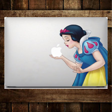 MacBook Snow White Sticker Decal For MacBook Pro Air All Sizes Snow White Kisses