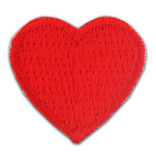Red Heart Embroidered Applique Sticker