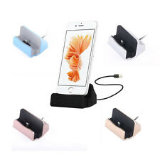 1Pcs Charger New Dock Station Sync Cradle Stand Hot For iPhone Desktop Charge