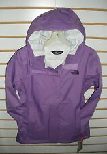 THE NORTH FACE WOMENS VENTURE WATERPROOF JACKET -A8AS- B PURPLE - M, L
