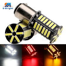 4Pcs 12V White Red Amber 7014 36 SMD 1156 1157 Led Bulbs Tail Stop Turn Lights