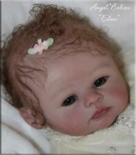 EDEN PEACH VINYL REBORN Doll Kit by Marissa May ~ Adorable Darling Baby Girl Kit