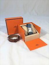 Hermes Tandem Watch AND Extra Leather Band $2500