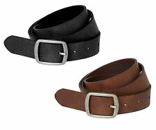 Women's Leather BELT BEACH LAETHER BELT NOOS Genuine leather brown 15129900