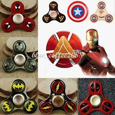 2017 THE AVENGERR HERO METAL FIGGET SPINNER STRESS RELIEVER TOYS ~ FREE SHIPPING