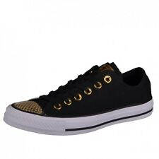 Converse CTAS Ox black/gold/white Sneakers Shoes Chucks Chuck 555815C