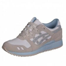 Asics Gel Lyte III white/light grey Shoes Trainers Runner Leather white H6U9L
