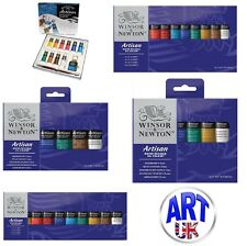 Winsor & Newton ARTISAN WATER MIXABLE OIL COLOUR SETS starter studio paint tubes