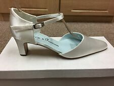 Ivory satin bridal bridesmaid Wedding shoes All sizes Available Style POSY